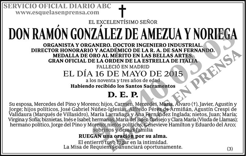 Ramón González Amezua y Noriega